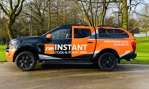 Instant Tool & Plant Hire Vehicle